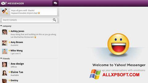 Screenshot Yahoo! Messenger Windows XP