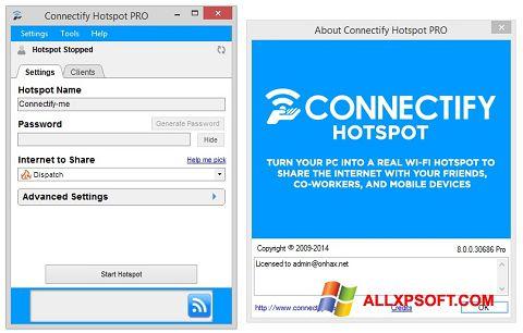 Screenshot Connectify Hotspot PRO Windows XP