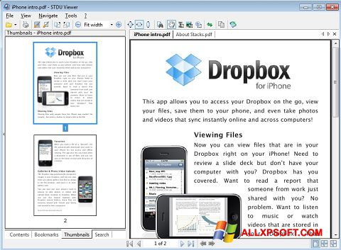 Screenshot STDU Viewer Windows XP