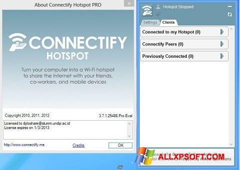 Screenshot Connectify Pro Windows XP
