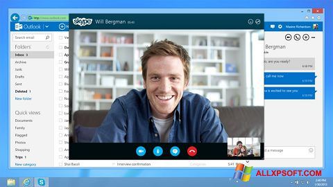 Screenshot Skype Windows XP